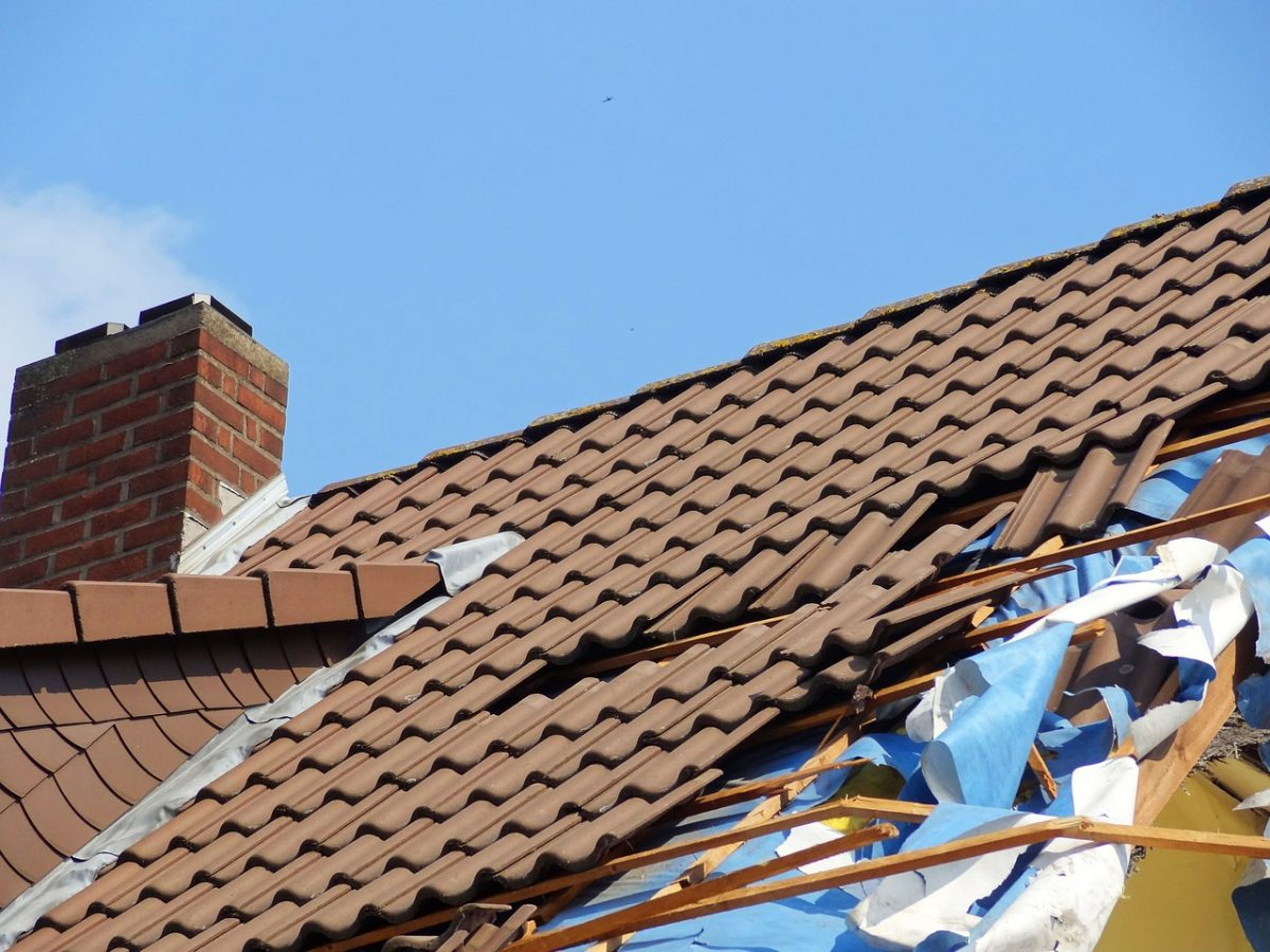 Roof Damage Common Signs
